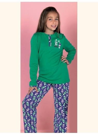 Lingabooms Pijama Takım Yeşil